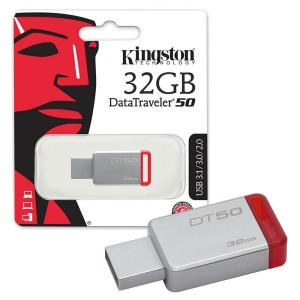 Flashdisk Kingston DT-50 32 GB Usb 3.1 FD DT50 32GB Original