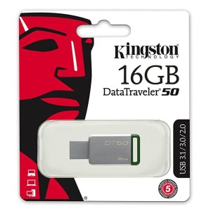 Flashdisk Kingston DT-50 16 GB Usb 3.1 FD DT50 16GB Original