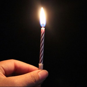 10X Prank Candle Magic Trick Relighting Candle Birthday Cake Party Gag Joke BB