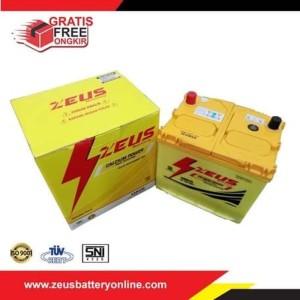 Aki Mobil Subaru Impressa 2.5 - 55D23L Zeus Kalsium