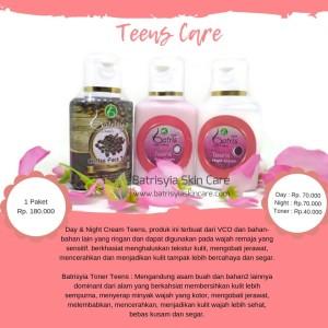 Teenscare Batrisyia Herbal Skincare/Teens Care Cream Perawatan Remaja
