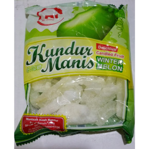 BUAH KUNDUR MANIS / GULA KUNDUR / WINTER MELON CANDIED FRUIT DELICIOUS