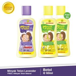Buy 2 Minyak Telon Anti Nyamuk Lavender 60ml GET 2 Milon Natural