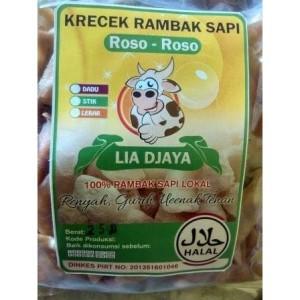 """Krupuk Rambak Kulit Sapi Mentah """"LiaDjaya"""" Siap Goreng Tanpa Dijemur"""