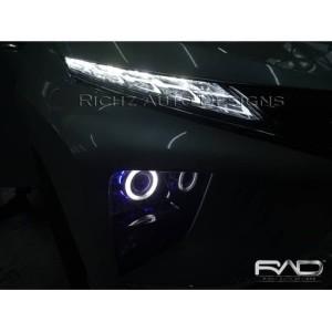 Custom Headlamp proyektor angel eyes + hid + Drl Crystal Line Xpander