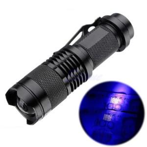 Murah! TaffLED Senter 395nm Pocketman P1 Ultraviolet