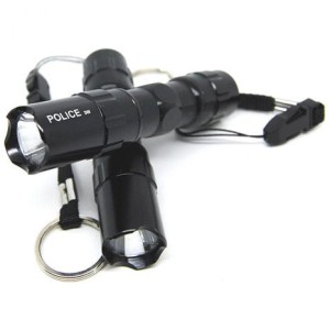 Murah! TaffLED Police Senter LED Flashlight Waterproof - 3W