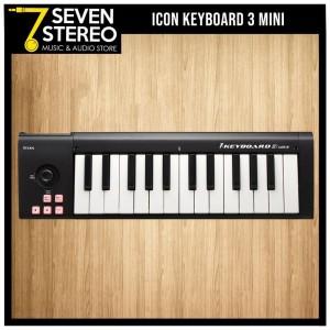 ICON IKeyboard 3 Mini - Keyboard MIDI Controller 25 Keys