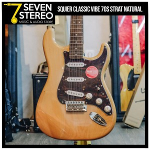 Squier Classic Vibe Stratocaster 70 S Natural