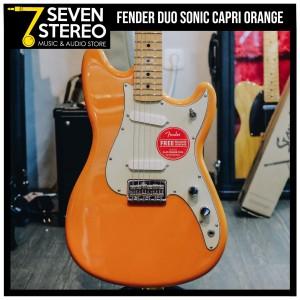 Fender Duo Sonic Capri Orange Electric Guitar