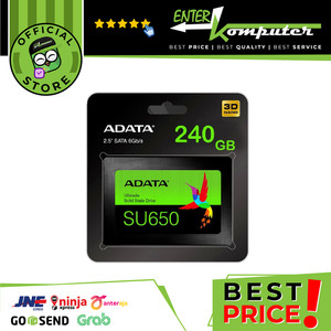 ADATA SSD SU650 240GB SATA III ( R/W Up to 520 / 450MB/s )