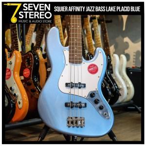 Squier Affinity Jazz Bass Lake Placid Blue