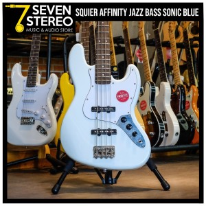 Squier Affinity Jazz Bass Sonic Blue