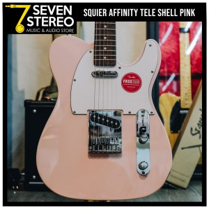 Squier Affinity Telecaster Shell Pink