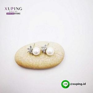 XUPING ANTING TUSUK MUTIARA SILVER 0152190104