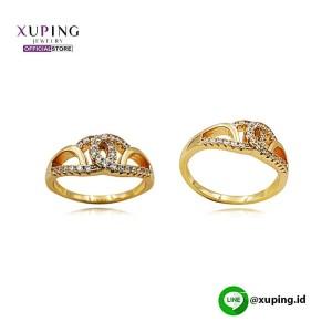 XUPING CINCIN MOTIF CHANNEL ZIRCON GOLD 0121191049