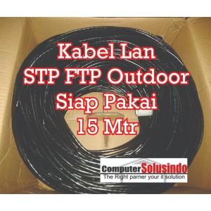 Kabel LAN STP FTP CAT5e 15Meter OutDoor