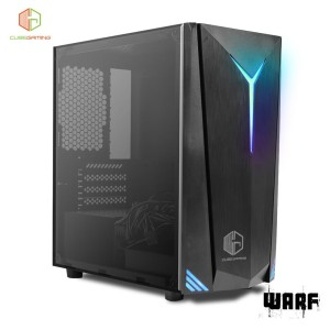 CUBE GAMING WARF - mATX - LEFT SIDE TEMPERED GLASS - FRONT LED STRIP