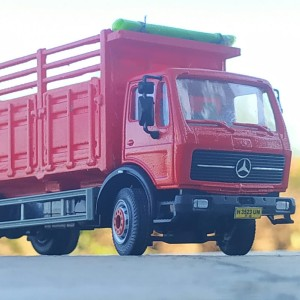 diecast truk kastem custom mercedes
