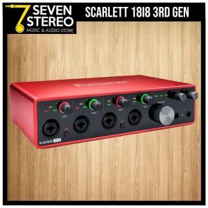 Focusrite Scarlett 18i8 3rd Gen USB Audio Interface - Soundcard