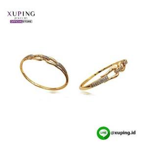 XUPING GELANG KAKU MOTIF GOLD ZIRCON 0131190600