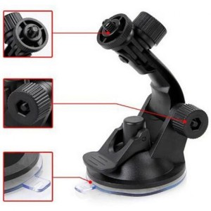 Suction Cup Car Holder Mobil Kamera Aksi GoPro / Xiaomi Yi