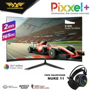 Armaggeddon Gaming Monitor Pixxel+ Xtreme Series XC27HD 165Hz