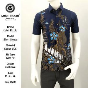 New Design Kemeja Batik Elegan LUIGI RICCIO Agustus 2019