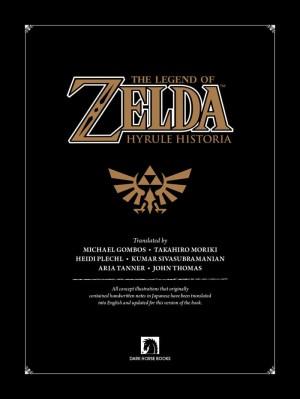 Jual The Legend Of Zelda Hyrule Historia Jakarta Pusat Aslan Ebook Book Store Tokopedia