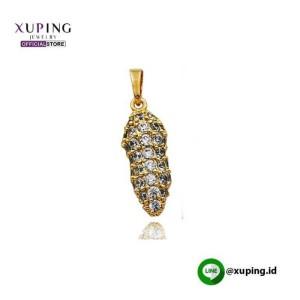 XUPING LIONTIN MOTIF PEANUT GOLD ZIRCON 0141190220