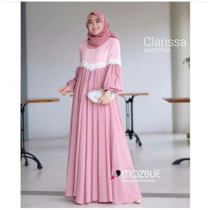FASHION DRESS MUSLIM CLARISA DRESS