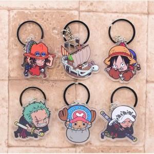 Gantungan Kunci One Piece Versi Chibi