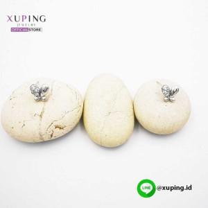 XUPING ANTING TUSUK KUPU SILVER ZIRCON 0152190090