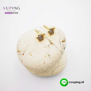 XUPING ANTING TUSUK BUNGA GOLD ZIRCON 0151190448