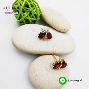 XUPING ANITNG TUSUK MATA KUMBANG RED 0151190347