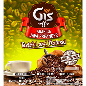 Kopi Arabica Java Preanger 1 kg (Bubuk/Biji Sangrai)