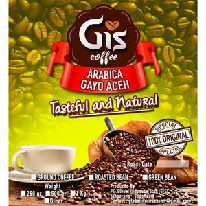 Kopi Arabica Gayo Aceh 250 Gram (Bubuk/Biji Sangrai)