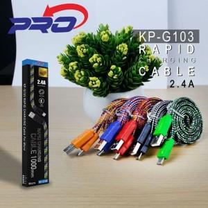 Kabel Data Micro USB charging 2.4A