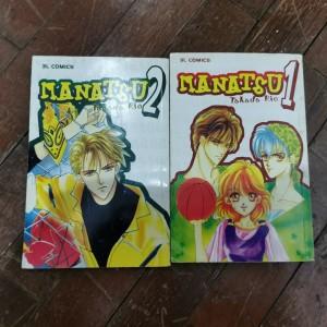 komik bekas Manatsu 1 dan 2