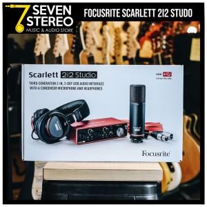 Focusrite Scarlett 2i2 Studio Pack 3rd Gen - Paket Recording