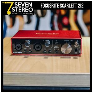 Focusrite Scarlett 2i2 3rd Gen USB Audio Interface - Soundcard Recordi