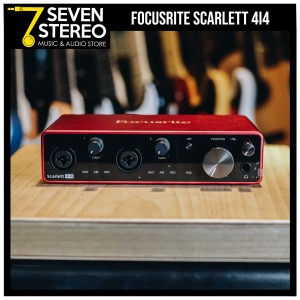 Focusrite Scarlett 4i4 3rd Gen USB Audio Interface - Soundcard