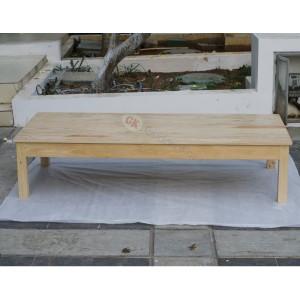 Meja lesehan panjang 175cmx 75cm x tinggi 35cm