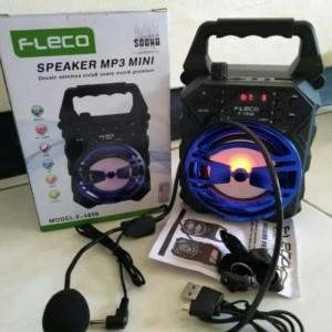 ORIGINAL SPEAKER KARAOKE BLUETOOTH FLECO MP3 MINI F-1859