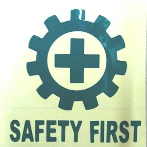 sticker K3/sticker helm k3/sticker safety first