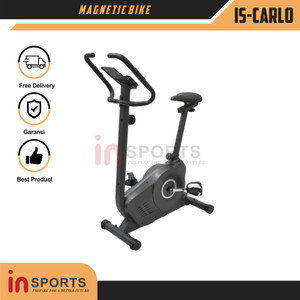 Sepeda Statis IS-Carlo Magnetic Bike Olahraga Alat Fitness Insports