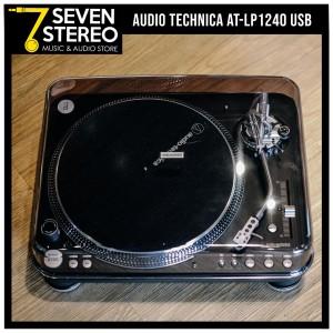 AT-LP1240-USBXP Direct-Drive Professional DJ Turntable USB & Analog