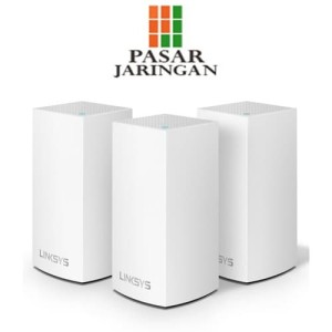 WHW0303-AH Linksys Velop Intelligent Mesh WiFi System.Tri-Band AC6600