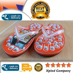Sandal Kesehatan Glisten Paris Wanita Ukuran 9 Oranye Glisten Rematik