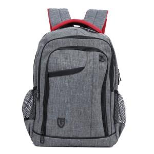 Tas Backpack Ransel Punggung Pria Sintetis Abu TJS 5910 GARUCCI